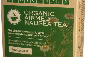 ORGANIC AIRMED NAUSEA TEA HERBAL SUPPLEMENT