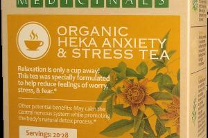 ORGANIC HEKA ANXIETY & STRESS TEA HERBAL SUPPLEMENT