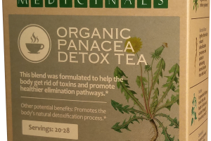 ORGANIC PANACEA DETOX TEA HERBAL SUPPLEMENT