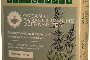 ORGANIC PANACEA IMMUNE DEFENSE TEA HERBAL SUPPLEMENT