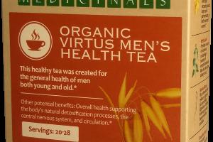ORGANIC VIRTUS MEN'S HEALTH TEA HERBAL SUPPLEMENT