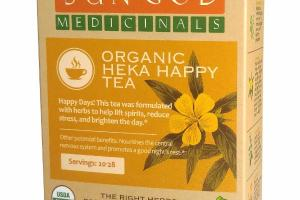 ORGANIC HEKA HAPPY TEA HERBAL SUPPLEMENT