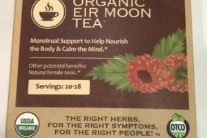 ORGANIC EIR MOON TEA HERBAL SUPPLEMENT