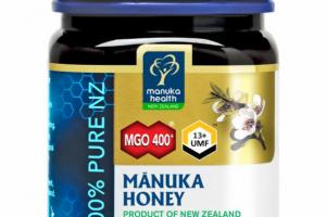 100% PURE NZ MANUKA HONEY