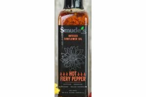 HOT FIERY PEPPER INFUSED SUNFLOWER OIL