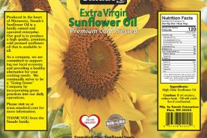 EXTRA VIRGIN SUNFLOWER OIL