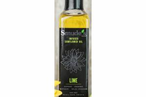 LIME INFUSED SUNFLOWER OIL