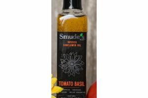 TOMATO BASIL INFUSED SUNFLOWER OIL
