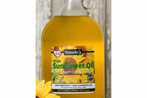 PREMIUM COLD PRESSED VIRGIN SUNFLOWER OIL