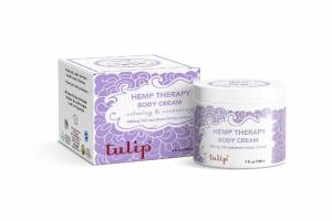 CALMING & CENTERING HEMP THERAPY BODY CREAM, LAVENDER