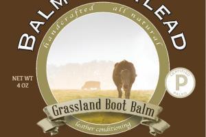 GRASSLAND BOOT BALM