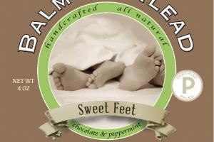 CHOCOLATE & PEPPERMINT SWEET FEET