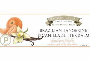 BRAZILIAN TANGERINE & VANILLA BUTTER BALM