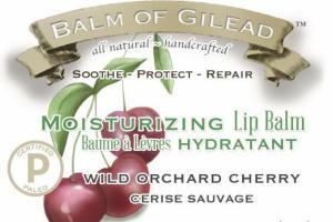 MOISTURIZING LIP BALM, WILD ORCHARD CHERRY