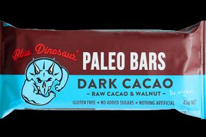DARK RAW CACAO & WALNUT PALEO BARS
