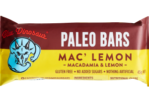 MACADAMIA & LEMON PALEO BARS