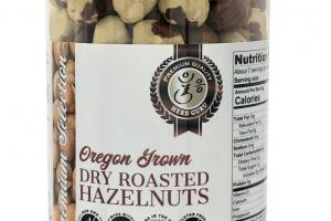 OREGON GROWN DRY ROASTED HAZELNUTS