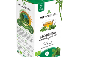MINT ORGANIC MORINGA SUPERFOOD TEA BAGS