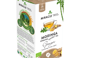 GINGER ORGANIC MORINGA SUPERFOOD TEA BAGS