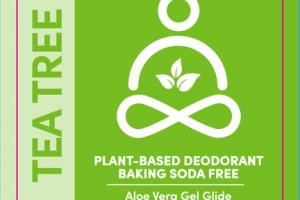 BAKING SODA FREE PLANT-BASED DEODORANT, TEA TREE