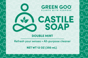 CASTILE SOAP, DOUBLE MINT
