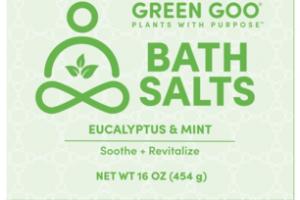SOOTHE + REVITALIZE BATH SALTS, EUCALYPTUS & MINT