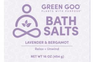 BATH SALTS, LAVENDER & BERGAMOT