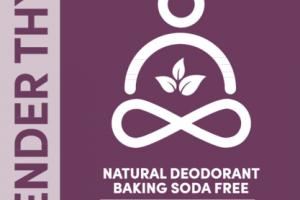 BAKING SODA FREE NATURAL DEODORANT, LAVENDER THYME