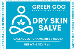 DRY SKIN SALVE, CALENDULA + CHAMOMILE + JOJOBA
