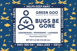 BUGS BE GONE PURE ESSENTIAL OILS, LEMONGRASS + PEPPERMINT + LAVENDER