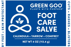 HELPS TEMPORARILY RELIEVE SYMPTOMS FOOT CARE HOMEOPATHIC SALVE