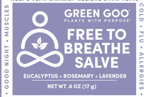 FREE TO BREATHE SALVE, EUCALYPTUS + ROSEMARY + LAVENDER