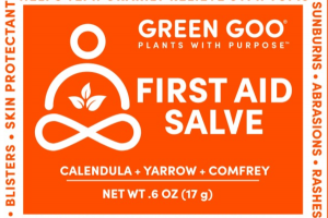 FIRST AID SALVE, CALENDULA + YARROW + COMFREY
