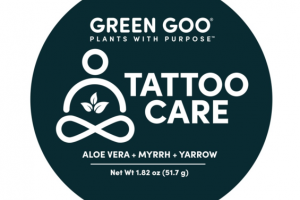 TATTOO CARE, ALOE VERA + MYRRH + YARROW