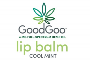 4 MG FULL-SPECTRUM HEMP OIL LIP BALM, COOL MINT