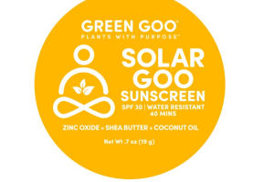 SPF 30 WATER RESISTANT SOLAR GOO SUNSCREEN