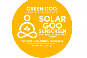 SPF 30 WATER RESISTANT SOLAR GOOD SUNSCREEN