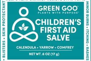 CHILDREN'S FIRST AID SALVE, CALENDULA + YARROW + COMFREY