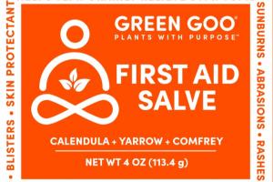 FIRST AID SALVE, CALENDULA + YARROW + COMFREY