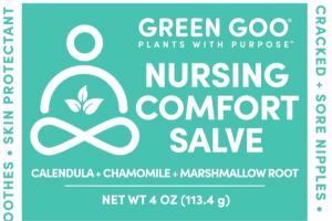 NURSING COMFORT SALVE, CALENDULA + CHAMOMILE + MARSHMALLOW ROOT