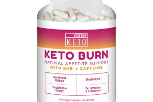 KETO BURN NATURAL APPETITE SUPPORT DIETARY SUPPLEMENT VEGGIE CAPSULES