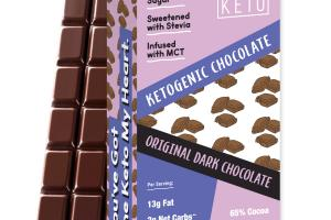 ORIGINAL DARK CHOCOLATE KETOGENIC BARS