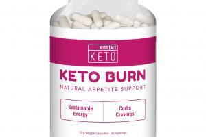 KETO BURN NATURAL APPETITE SUPPORT DIETARY SUPPLEMENT VEGGIE CAPSULES