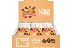 CHOCOLATE PEANUT BUTTER KETOGENIC BAR