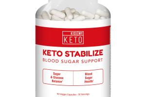 KETO STABILIZE BLOOD SUGAR SUPPORT DIETARY SUPPLEMENT VEGGIE CAPSULES