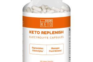 KETO REPLENISH ELECTROLYTE DIETARY SUPPLEMENT VEGGIE CAPSULES