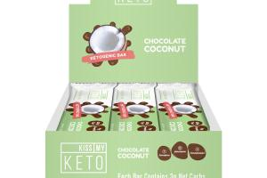 CHOCOLATE COCONUT KETOGENIC BAR