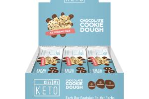 CHOCOLATE COOKIE DOUGH KETOGENIC BAR
