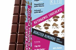 ROASTED ALMONDS DARK CHOCOLATE