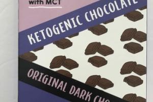 KETOGENIC ORIGINAL DARK CHOCOLATE BAR